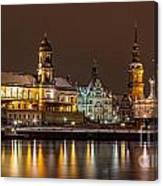 Dresden The Capital Of Saxony I Canvas Print