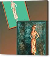 Dress Design 18 Canvas Print