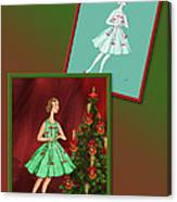 Dress Design 47 Canvas Print