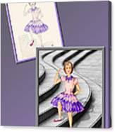 Dress Design 49 Canvas Print