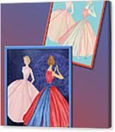 Dress Design 52 Canvas Print