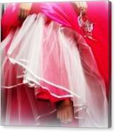 Dress - Gown - Pageant Canvas Print
