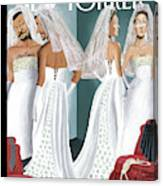 Dress Reversal Canvas Print