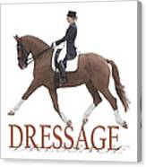 Dressage Canvas Print
