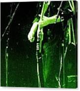 Dressed Myself In Green  Canvas Print