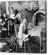 Dressing Room, C1900 Canvas Print