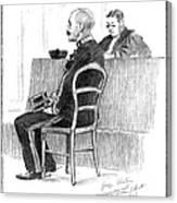 Dreyfus Affair 1899 Canvas Print