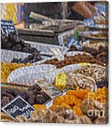 Dried Fruits Canvas Print