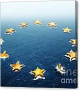 Drifting Europe Canvas Print