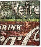 Drink Coca-cola 1 Canvas Print