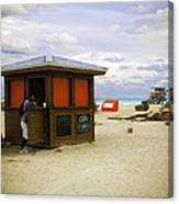 Drink Of The Day - Miami Beach - Florida Canvas Print