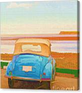 Drive To The Shore Canvas Print