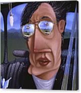 Driving 1995 Canvas Print