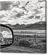 Driving Through Colorado Canvas Print