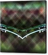 Droplets Abstract Canvas Print