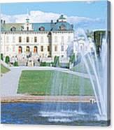 Drottningholm Palace, Stockholm, Sweden Canvas Print