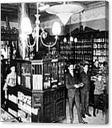 Drugstore, 1897 Canvas Print