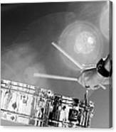Drum And Sun Canvas Print