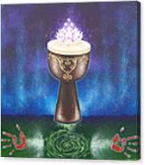 Drum Healing Canvas Print