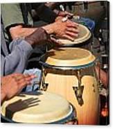 Drum Jammin In Golden Gate Park Canvas Print
