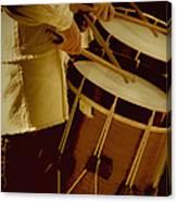 Drummers Canvas Print
