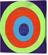 Drunk Circles Eight Canvas Print