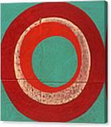 Drunk Circles Five Canvas Print