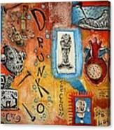 Drunko The Clown Canvas Print