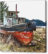 Dry Dock Canvas Print
