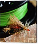 Dry Fly - D003399b Canvas Print