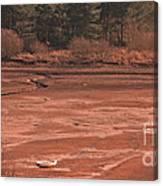 Dry Reservoir  Canvas Print