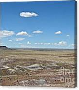 Dry Riverbed Canvas Print