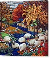 Dry Run Creek Canvas Print
