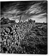 Dry Stone Walls Canvas Print
