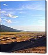 Dry Valley Vista Canvas Print