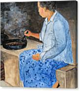 Dryng Coffee Canvas Print
