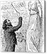 Du Maurier: Trilby, 1894 Canvas Print