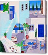 Dual Horizons Canvas Print