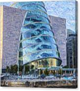 Dublin Convention Centre Republic Of Ireland Canvas Print