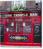 Dublin Ireland - The Temple Bar Canvas Print