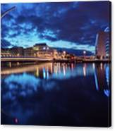 Dublin - Samuel Beckett Bridge Canvas Print