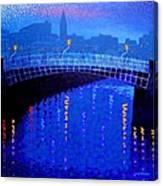 Dublin Starry Nights Canvas Print