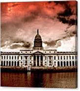 Dublin - The Custom House Canvas Print