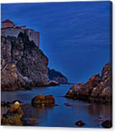 Dubrovnik Bay Canvas Print