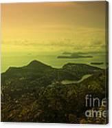 Dubrovnik Islands  Canvas Print