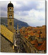 Dubrovnik - Old City Canvas Print