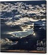 Dubrovnik Sunset Starburst Canvas Print