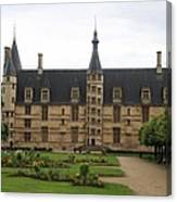 Ducal Palace Nevers Canvas Print