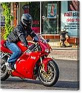 Ducati 748 Canvas Print