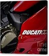 Ducati-unplugged V9 Canvas Print